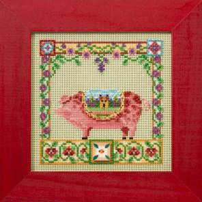 Свинка Перси Набор для вышивания MILL HILL
