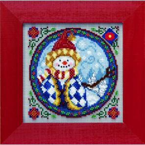 Западный снеговик Набор для вышивания MILL HILL