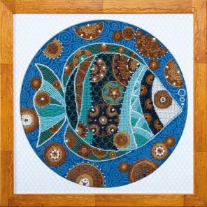 Красочная рыбка Набор для вышивания бисером Чаривна Мить