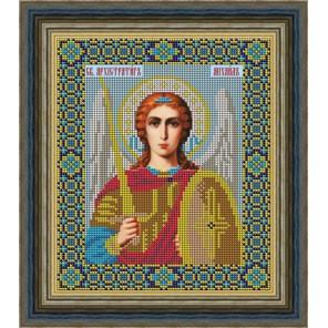 Святой Архангел Михаил Набор для вышивания бисером Икона GALLA COLLECTION