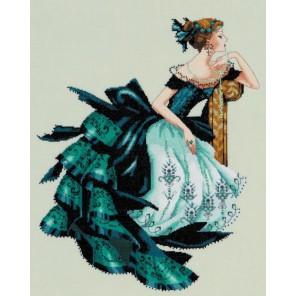 Портрет Вероники Схема для вышивания MIRABILIA