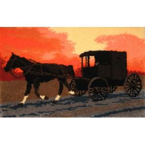 Повозка Набор для вышивания коврика MCG TEXTILES