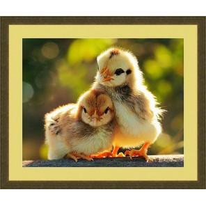 Цыплята Набор для вышивания бисером GALLA COLLECTION