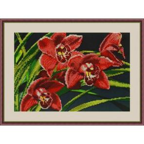 Орхидеи Набор для вышивания бисером GALLA COLLECTION