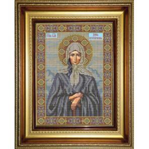 Ксения Петербургская Набор для вышивания бисером Икона GALLA COLLECTION