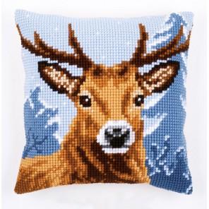Северный олень Набор для вышивания подушки VERVACO