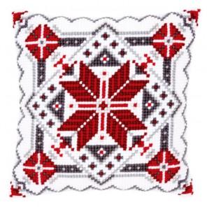 Скандинавская звезда II Набор для вышивания подушки VERVACO