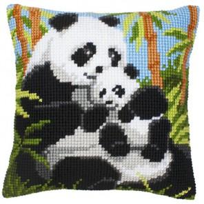 Панда Набор для вышивания подушки VERVACO