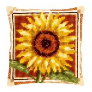 Подсолнух Набор для вышивания подушки VERVACO