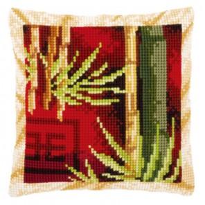 Бамбук I Набор для вышивания подушки VERVACO