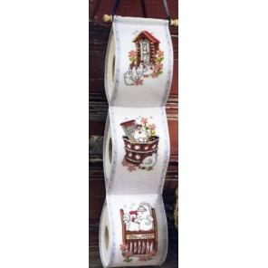 Курица Набор для вышивания держателя для туалетной бумаги PERMIN