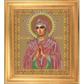 Умягчение Злых Сердец Набор для вышивания бисером Икона GALLA COLLECTION
