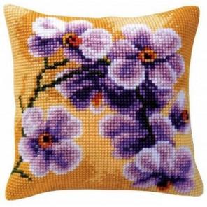 Орхидея Набор для вышивания подушки VERVACO