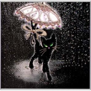 Соло под дождем Набор для вышивания хрустальными бусинами СТУДИЯ ВЫШИВКИ