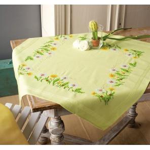 Одуванчики Набор для вышивания скатерти VERVACO