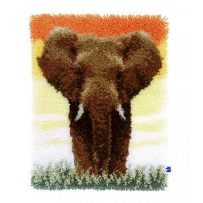 Cлон в саванне II Набор для вышивания коврика VERVACO