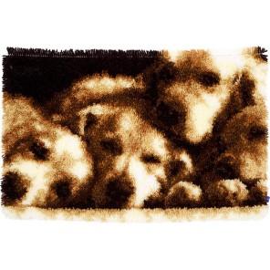 Спящие собачки Набор для вышивания коврика VERVACO