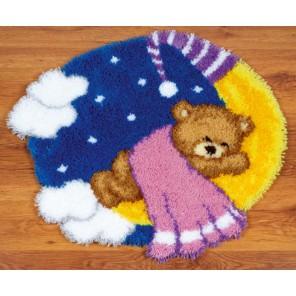 Тедди на луне Набор для вышивания коврика VERVACO