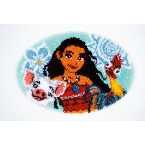 Моана Набор для вышивания коврика VERVACO