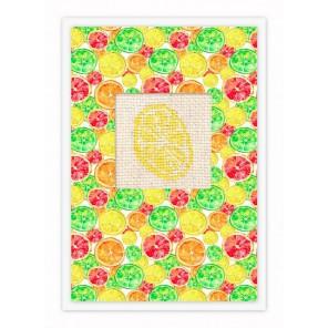 Апельсин Набор для изготовления открытки LUCA-S