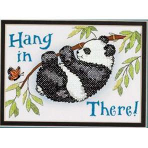 Панда, держись! 65088 Набор для вышивания Dimensions ( Дименшенс )