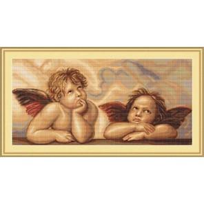 Ангелочки Набор для вышивания LUCA-S