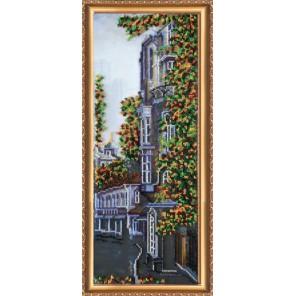 Питерские улочки-2 Набор для вышивки бисером на натуральном художественном холсте АБРИС АРТ