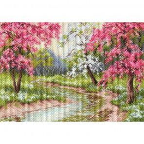 Цветущий сад Набор для вышивания бисером МАТРЕНИН ПОСАД