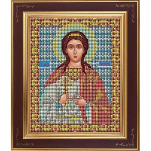 Св. Любовь Комплект для вышивания бисером Икона GALLA COLLECTION