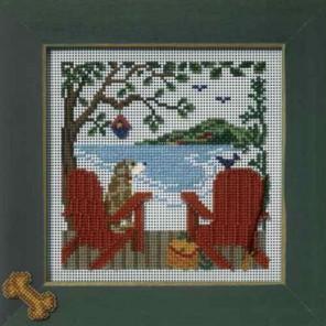 На берегу озера Набор для вышивания бисером MILL HILL