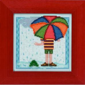 Дождливый день Набор для вышивания MILL HILL