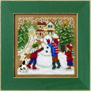 Снежный день Набор для вышивания MILL HILL