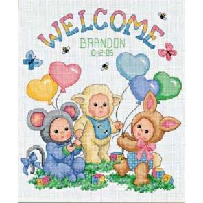 Запись о рождении: Маскарад малышей 72991 Набор для вышивания Dimensions ( Дименшенс )