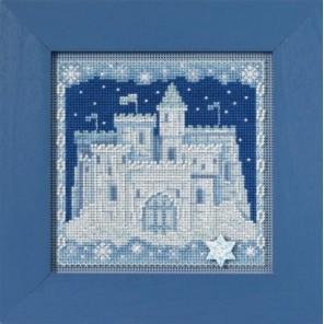 Ледяной замок Набор для вышивания бисером MILL HILL