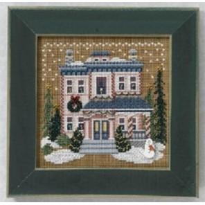 Викторианский дом Набор для вышивания MILL HILL