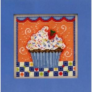 Шоколадное пирожное Набор для вышивания MILL HILL