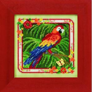Попугай Набор для вышивания MILL HILL