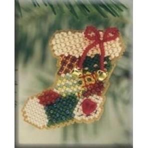 Рождественский носок Набор для вышивания MILL HILL