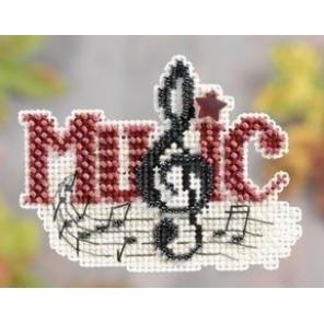 Музыка Набор для вышивания бисером MILL HILL