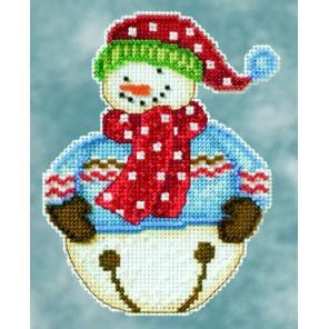 Снеговик Jingle Набор для вышивания MILL HILL