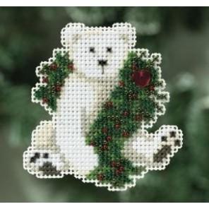 Каникулы полярного медведя Набор для вышивания MILL HILL