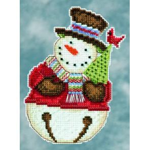 Снеговик Frank Набор для вышивания MILL HILL