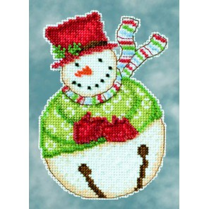 Снеговик Jangle Набор для вышивания MILL HILL