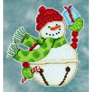 Снеговик Freezy Набор для вышивания MILL HILL