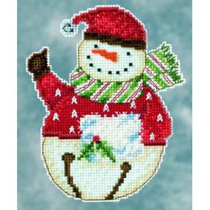Снеговик Flurry Набор для вышивания MILL HILL