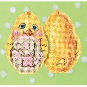 Желтый цыпленок Набор для вышивания MILL HILL
