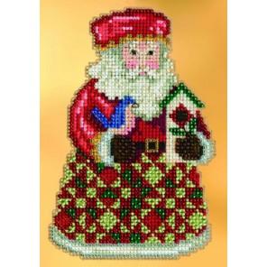 Уютное Рождество с Сантой Набор для вышивания MILL HILL