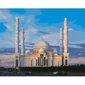 Мечеть Раскраска по номерам на холсте GX8811