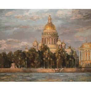 Исаакиевский собор. Санкт-Петербург Раскраска картина по номерам на холсте KH0132