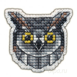 В рамке Сова набор Значок Набор для вышивания Овен 1095